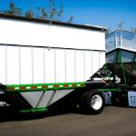 Hopper Trailers with 3ft extensions